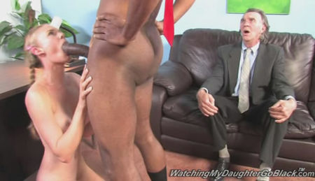 The Black Guy with a Huge by a Dick Fucks Young Girl