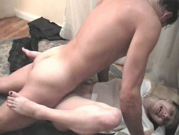 Brother blackmailed sex v