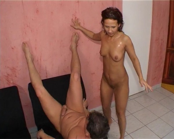 Domination female peeing