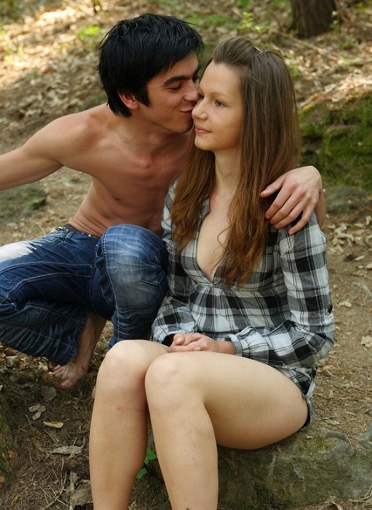 Klara - Hot Teen Sex In The Woods