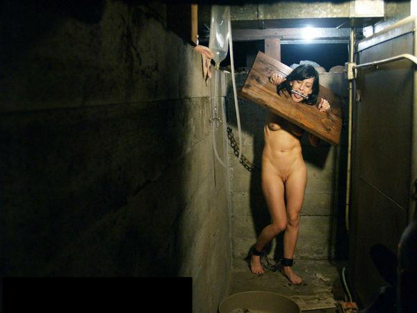 attic bdsm blowjob Into the dildo