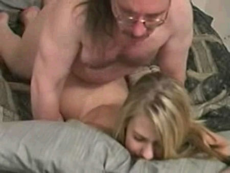 Super blonde in a porn video
