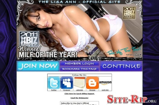 TheLisaAnn.com SITERIP download