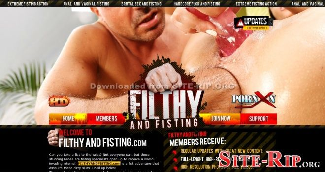 FilthyAndFisting.com SITERIP free download!