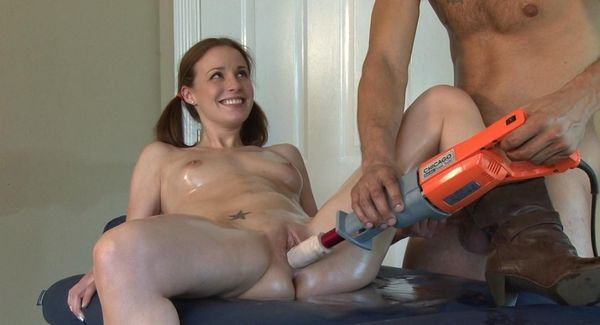 nude girlfriend shaved pussy gif