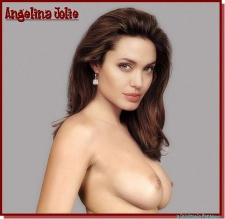 Porno photos (fakes) of American actress Angelina Jolie.