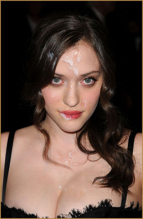 from Curtis kat dennings cum facial