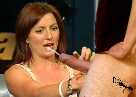 Noooooooo its davina mccall fake facial wanna