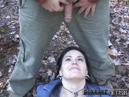 pissing girl on face