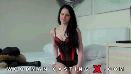 Very hot porn casting Woodman