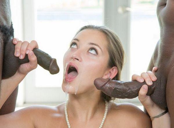 Кончающие на большом члене женщины