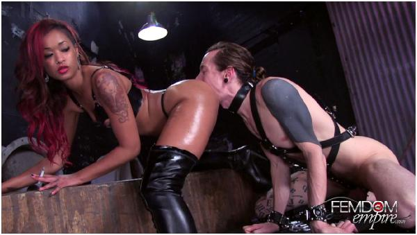 Asslicking, Ass Worship, Facesitting, Tongue in Hole, Femdom ...
