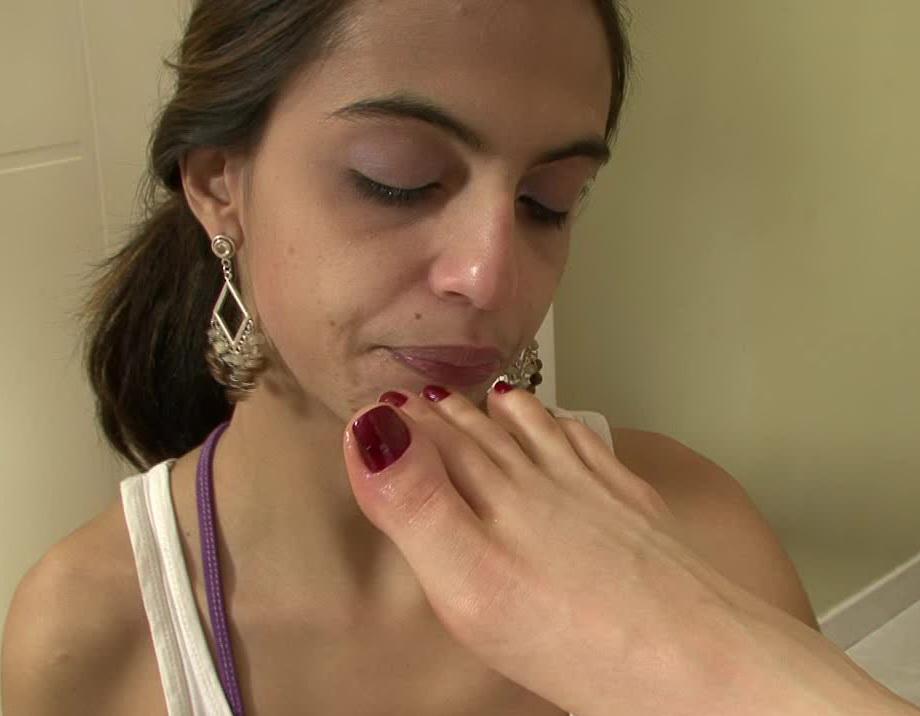 [Brazil Feet] - Worship Leticia Miller's Sweaty Feet
