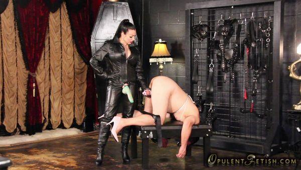 leather mistress Strap on