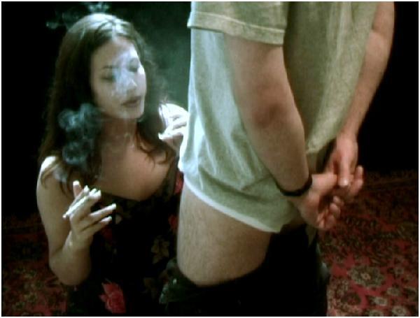 Smoking, Bad Girls Fuck With Men (Blowjobs, Sex, NO Solo), Breathe on Dick Smoke Girl Smoking a Cigar