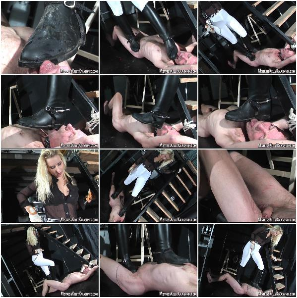 Female Domination in Boots, Smother, Feet Licking, Spanking, Bondage, Torture, Men Slave, Facesitting