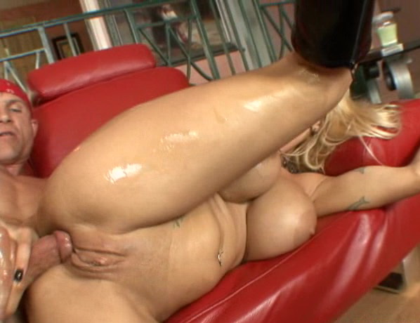 Holly Halston Oily Hard Ass Fuck 74