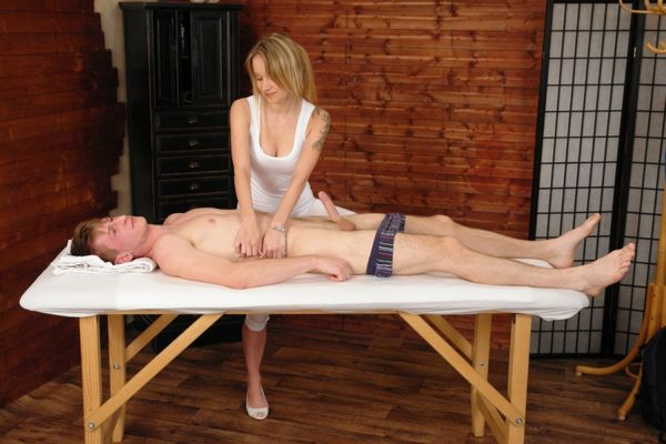 Bitch! Cfnm sensual massage lonely