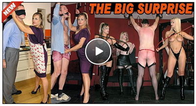 The English Mansion - The Big Surprise Lady Nina Birch, Mistress Nikki, Mistress Sidonia