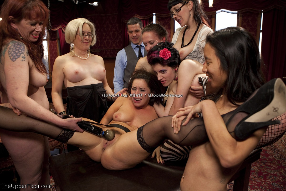 Fetish girl party