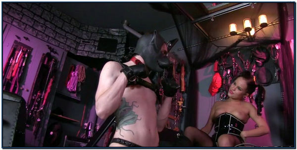 Boy Pet Milking Female Domination