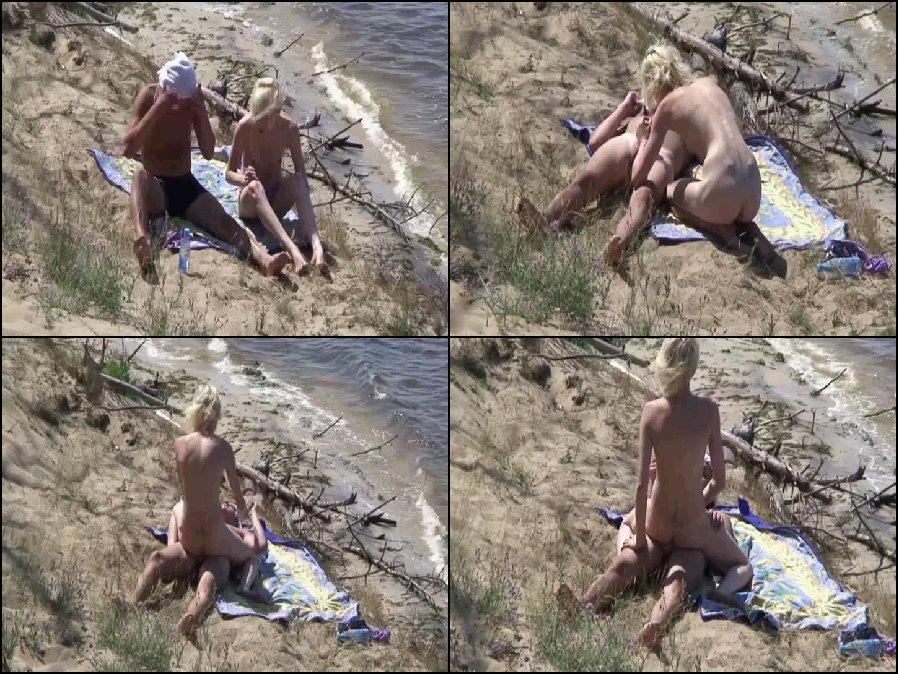 Naked girl on the street