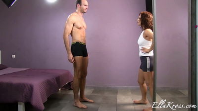 Ella Kross - Beating the Shit out of This Loser!