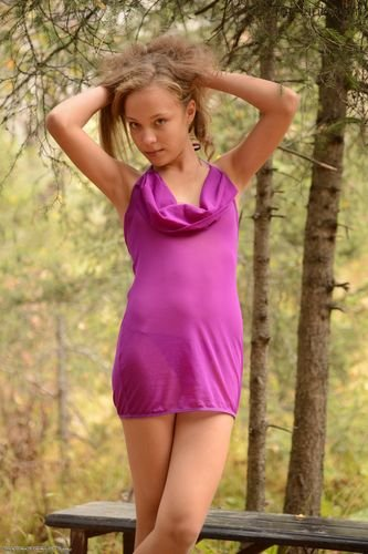 Silver-Starlets Marissa - Purple Dress 1