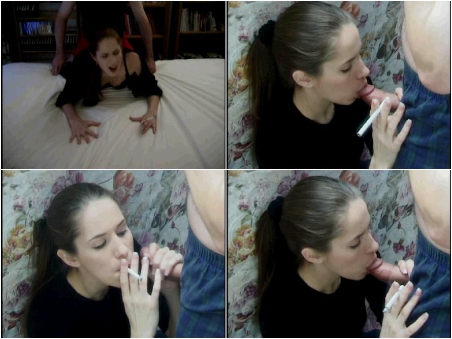 Smoking girls fuck porn video