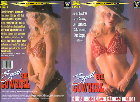 Squirt Em Cowgirl (1990) – Vintage USA Porn Movie