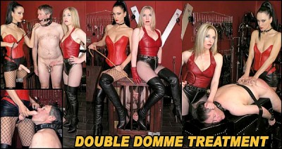 The English Mansion - Double Domme Treatment Fetish Liza, Mistress Sidonia