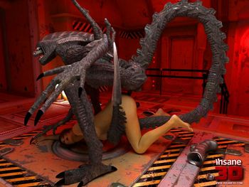 [3D Porn Comic] [Insane3D] Alien Intruders