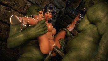 [3D Porn Comic] [X3Z] Dungeon – Lorelei's Escape