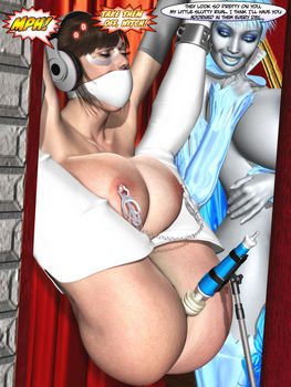 [3D Porn Comic] [Metrobay Comix] Frost Bitten. Part 1-8