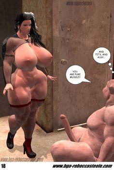 [3D Porn Comic] [SuperheroineComiXXX] Rebecca Steele, The Sleeping Beauty? Part 1