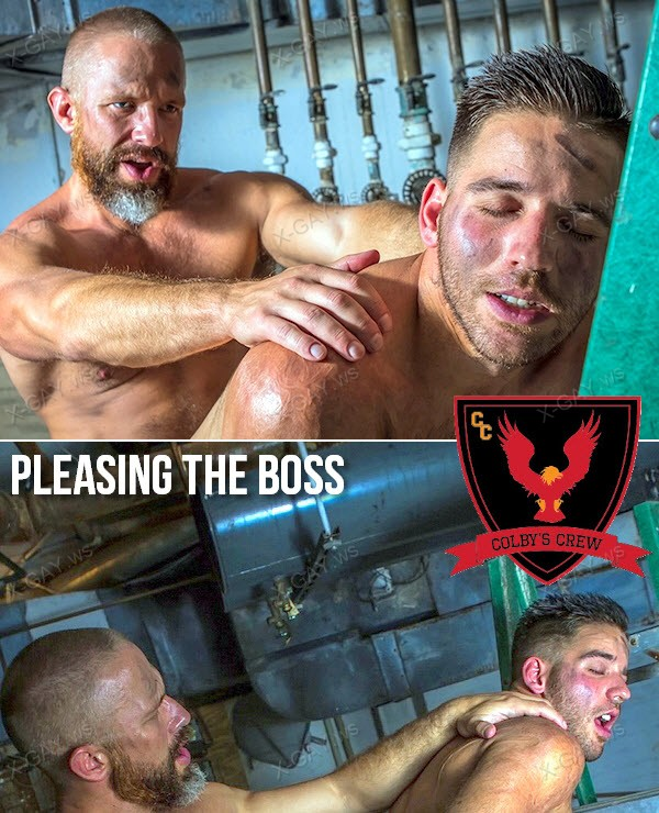ColbysCrew: Pleasing The Boss (Dirk Caber, Jackson Grant)