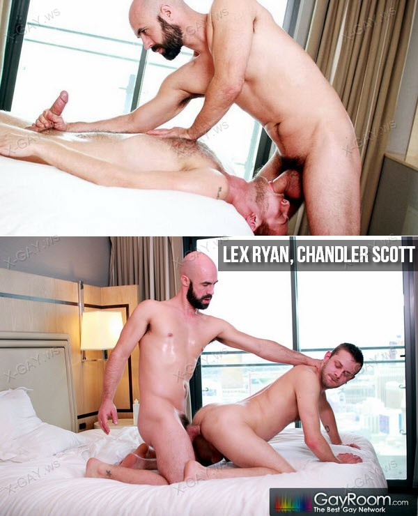 GayRoom: Pound My Oiled Ass (Lex Ryan, Chandler Scott)