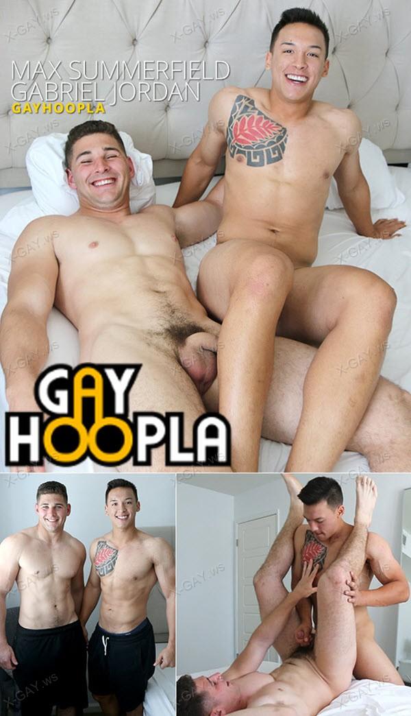 GayHoopla: Gabriel Jordan FUCKS Muscle Jock Max Summerfield
