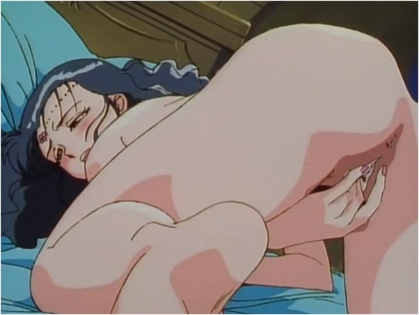 Anime tail wag gif