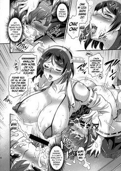 [H-manga] [Musashino Sekai] Kirishimax Futanarix [English]