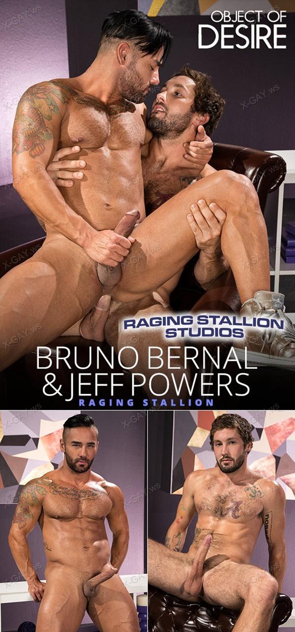RagingStallion: Object Of Desire (Jeff Powers, Bruno Bernal)