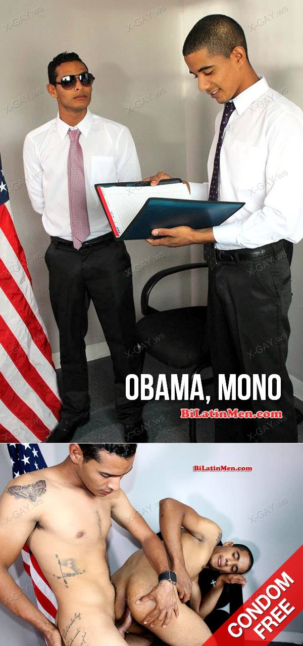 BiLatinMen: Obama, Mono (Bareback)