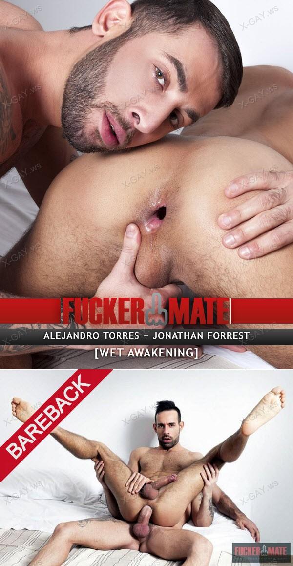 FuckerMate: Wet Awakening (Alejandro Torres, Jonathan Forrest) (Bareback)