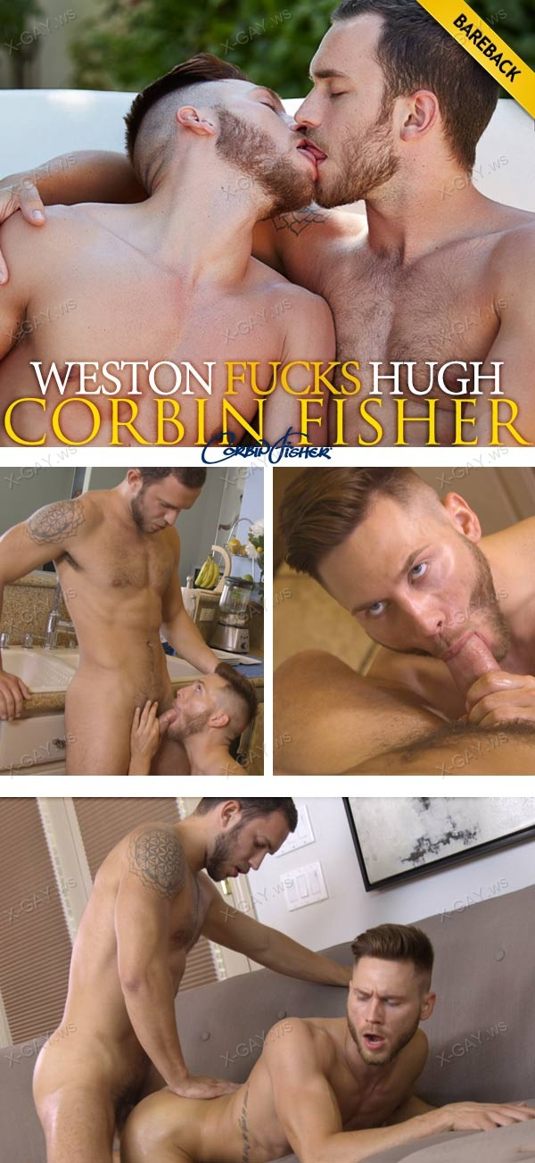 CorbinFisher: Weston Fucks Hugh (Bareback)
