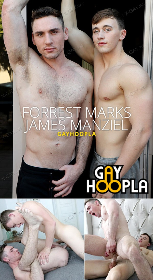 GayHoopla: James Manziel First-Time Gay Sex FUCKING Forrest Marks