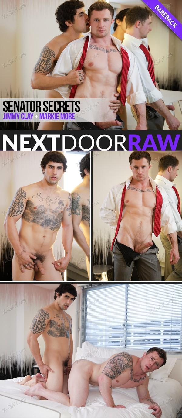 NextDoorRaw: Senator Secrets (Jimmy Clay, Markie More) (Bareback)