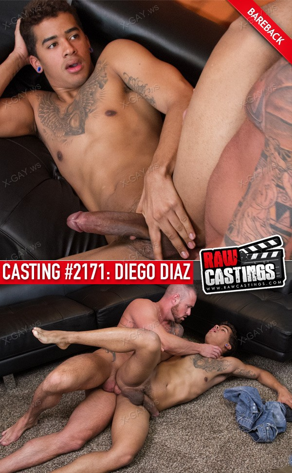 RawCastings: Casting #2171: Diego Diaz (with Michael Roman) (Bareback)