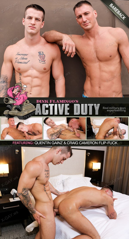 ActiveDuty: Craig Cameron, Quentin Gainz (Bareback)