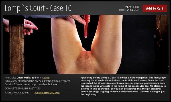 (03.03.2017) Lomp`s Court – Case 10