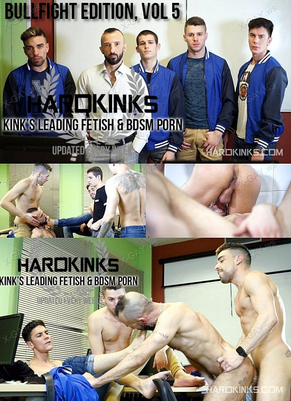 HardKinks: Bullfight Edition, Vol5 (Alec Loob, Angel Cruz, Dmitry Osten, Dominique Kenique, Josh Milk)